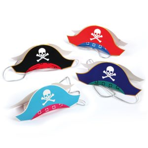 Party hats for pirates. Multiple colors good for birthday parties