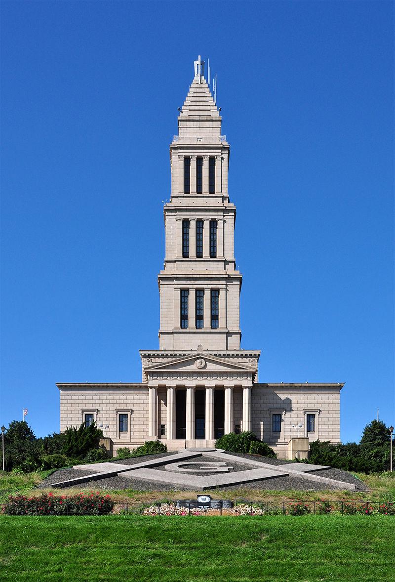 A photo of George Washington Masonic National Memorial. A large building to remember George Washington