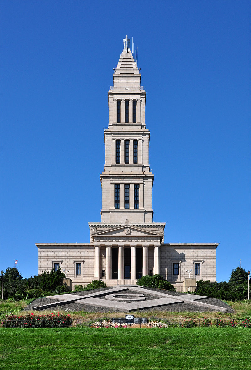 A photo of George Washington Masonic National Memorial. A large building to remember George Washington