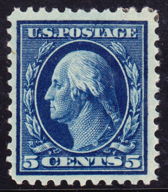 Washington-Franklin Issue of 1917 Stamp Postage