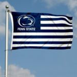 Penn State Nittany Lions Flag similar to the flag of the united states