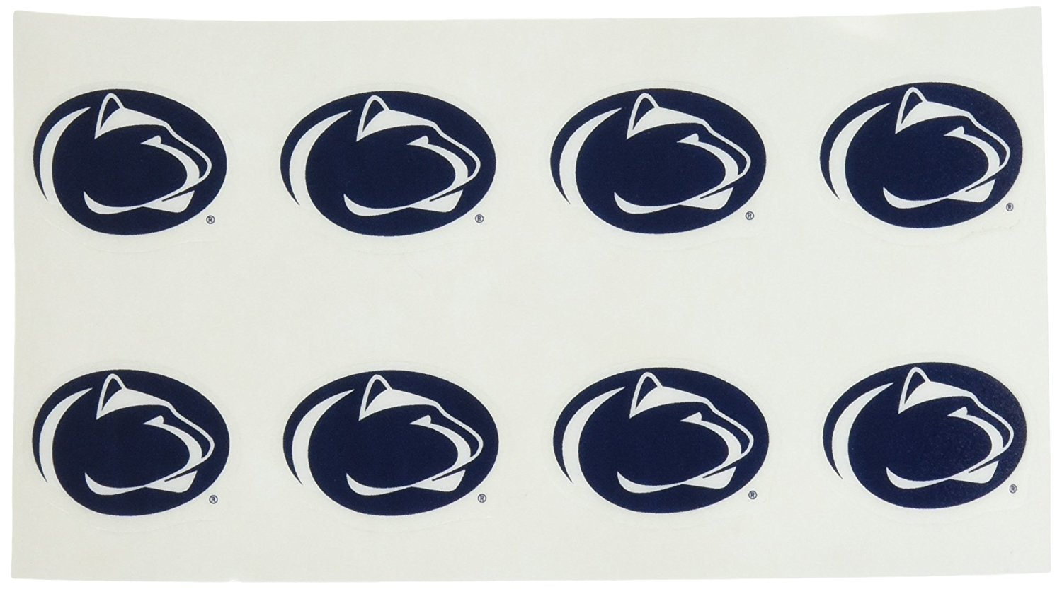 Penn State Fan. Nittany Lions Face Tattoos