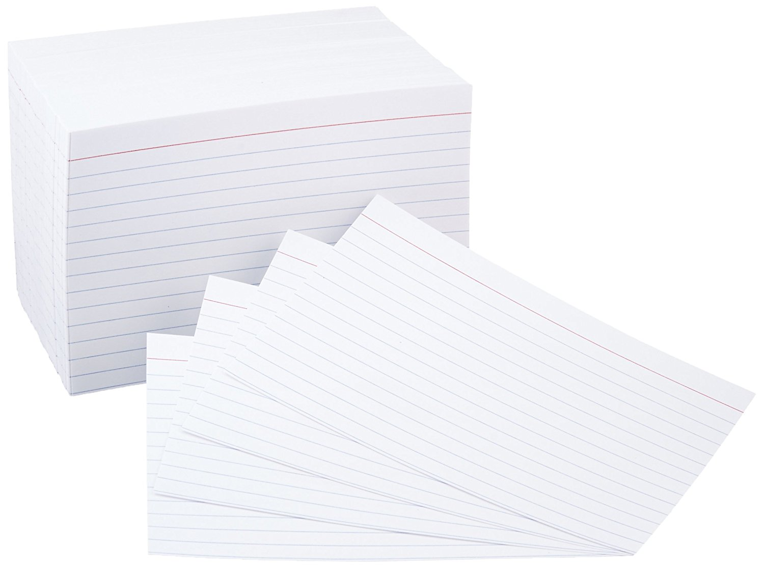 500 index cards sold on amazon