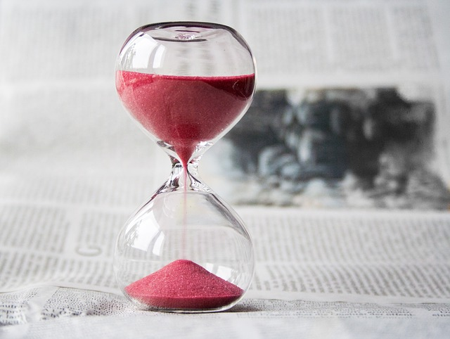 time hourglass, how much time should a mom business take?