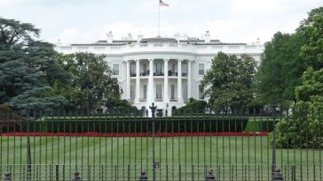 Photo of the White House in Washington D.C